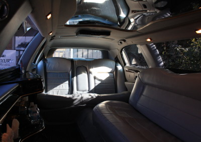 Interior back seat