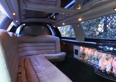 daylight inside limo