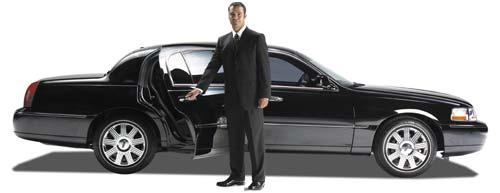 Chauffeur open door